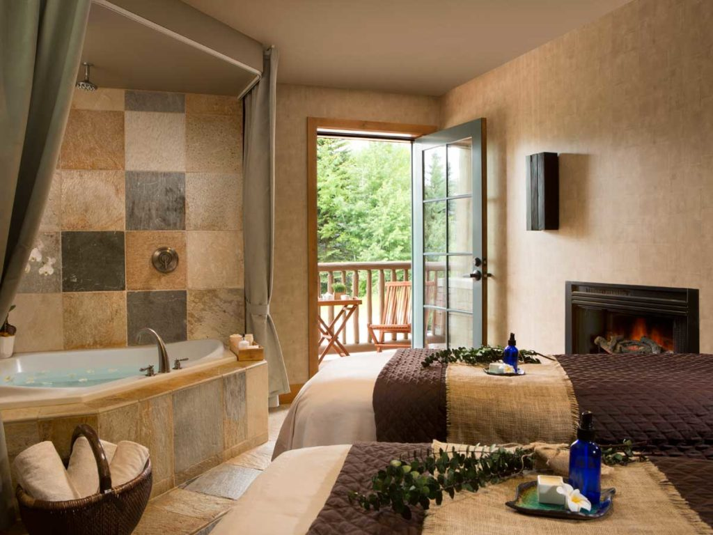 SpaTerre Treatment Room in Jackson Hole, WY